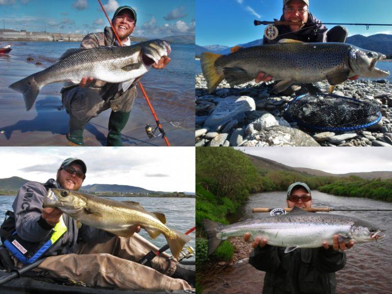 Kilian Lebreton, guide de pêche en Irlande