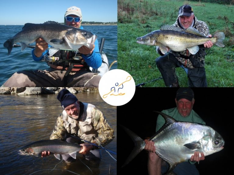 Patrick Lebreton, guide de pêche professionnel